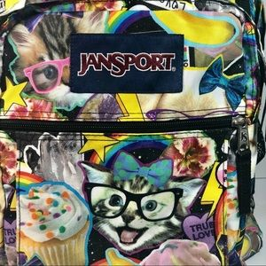 Jansport cat cupcake backpack